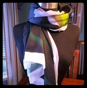 NWT Victoria Beckham for Target Calla Lily Scarf